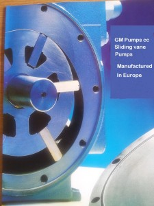 Sliding vane pumps