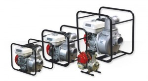Engine driven self priming pumps