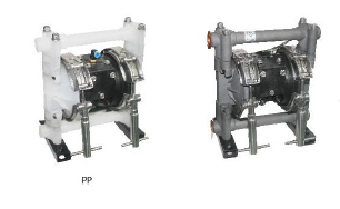 GM air operated double diaphragm pump competes with ARO, Graco, Wilden, Sandpiper and Yamada brands